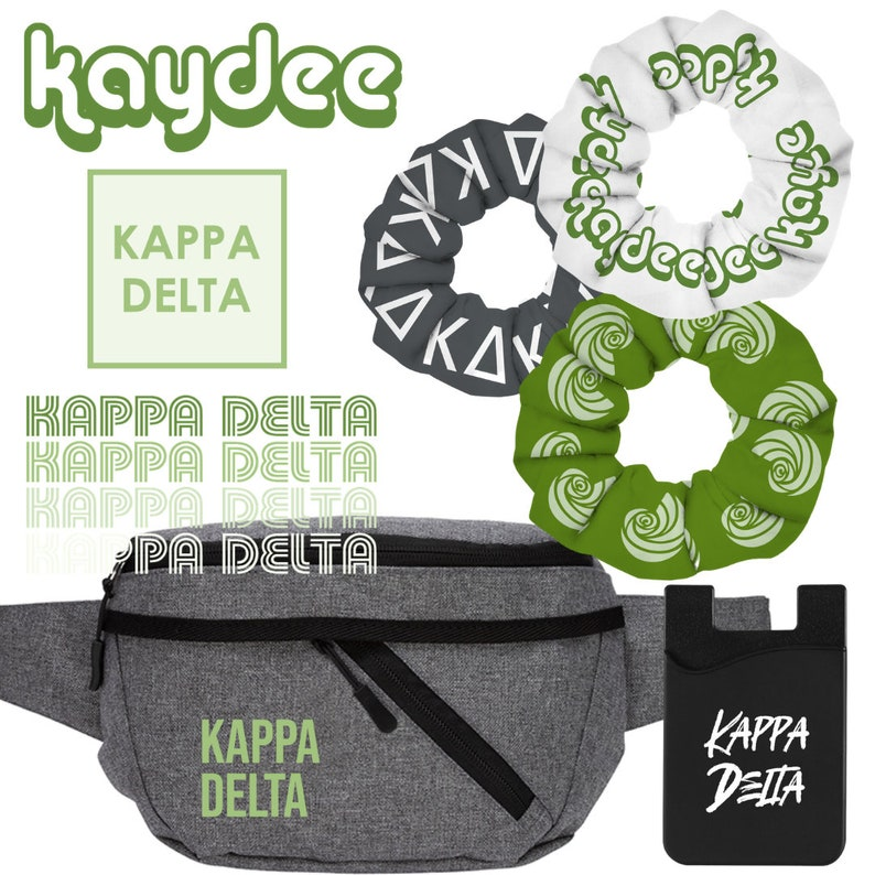 Kappa Delta Fanny Pack Gift Set
