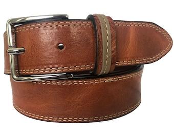 Handmade,Costom,Italian leather,Italian ink,Classic Belt,1-14,35mm