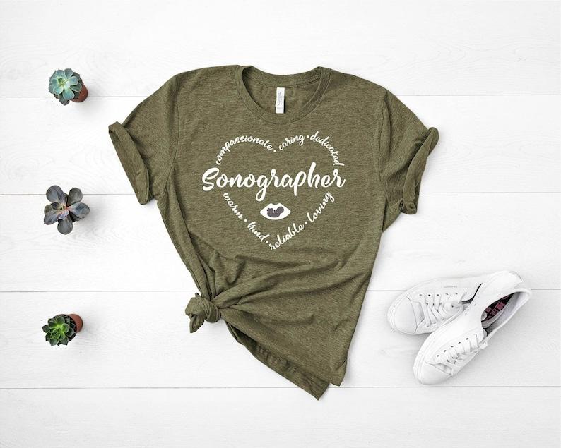 Gearhuman – Sonographer Heart TshirtSonographer TeeSonographer – 3D Tshirt – TH-0056