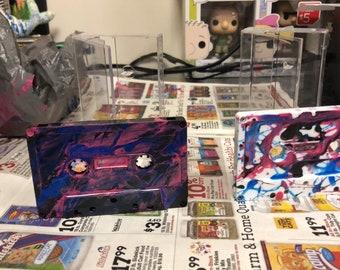 Custom Splatter Paint Mixtape