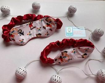 Pinocchio sleep mask, Pinocchio face mask, Pinocchio eye mask, Figaro sleep mask, Figaro eye mask, Disney sleep masks