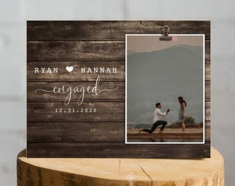 ENGAGEMENT GIFTS for Couple, Wedding Gift for Couples, Gift Ideas for Engaged Couples, Gift Ideas for Bride and Groom, Engagement Frames