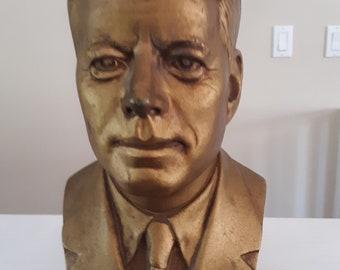 Quality Miniature 3 Inch Figure John F Kennedy President Solid Cast Iron Collectible Memorabilia Souvenir Figurine d832