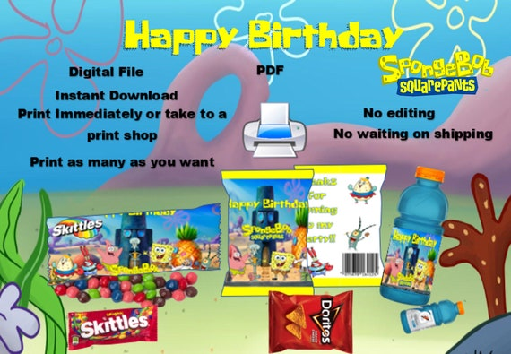and Hershey wraps print immediately. Chips 3 different labels water Cocomelon party covers digital download only