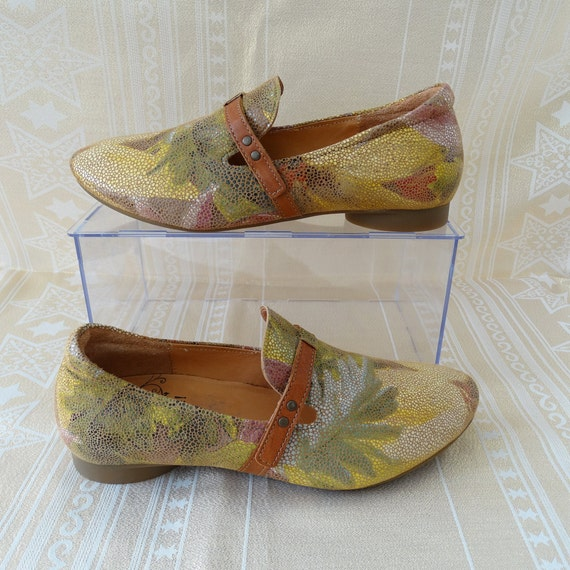 Think! Size EU 38 Women's Shoes Slipper Genuine Le