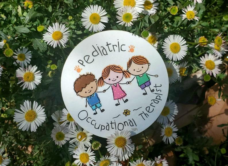 Kid Inspired  Pediatric OT Sticker image 0