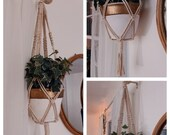Macrame Plant Hanger Wall Decor Macrame Hanger Air Plant Bedroom Wall Decor Boho Indoor Outdoor Mothers Day Home Decor