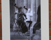 Orchestra at Practice  - Original Mounted Darkroom Print