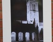 St Salvator's Cloister, St Andrews, Scotland  - Original Mounted Darkroom Print