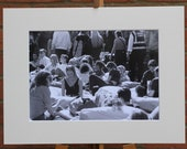 Serene in the sunshine  - Original Mounted Darkroom Print - Street Photography - Wall Art