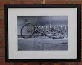 Bike 2   (Abandoned in Frankfurt) - Original Framed Darkroom Print