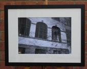 Guttenberg School, Frankfurt  - Original Framed Darkroom Print