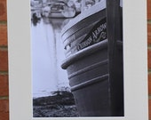 Crimson Arrow, Anstruther Harbour, Scotland  - Original Mounted Darkroom Print