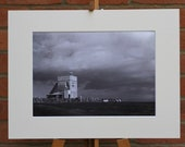 English Summer, Near Seaton Devon  - Original Mounted Darkroom Print