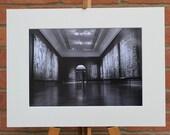 Tapestry room National Gallery London  - Original Mounted Darkroom Print