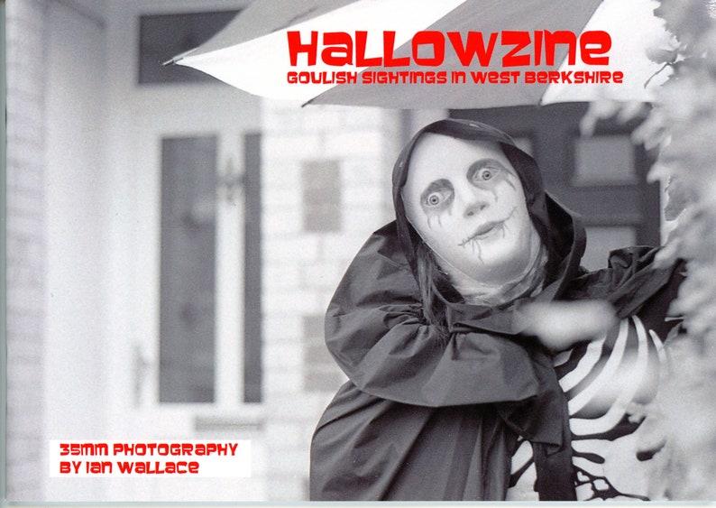 Hallowzine   A Halloween Zine  35mm Photography of spooky image 0