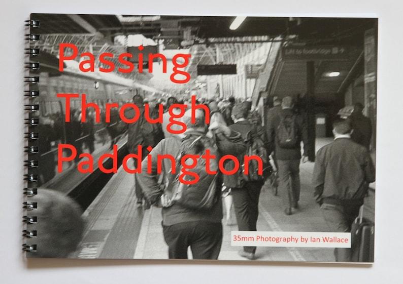 35mm photography zine  Passing through Paddington image 0