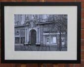 12 Am Hauptbahnhof, Frankfurt  - Original Framed Darkroom Print