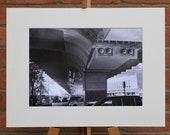 Hammersmith Flyover, London  - Original Mounted Darkroom Print
