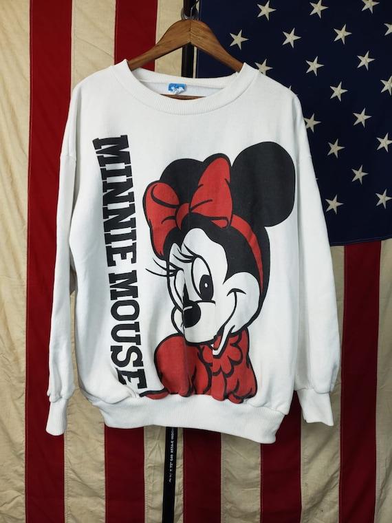 Vintage Minnie Mouse Crew Neck sweatshirt