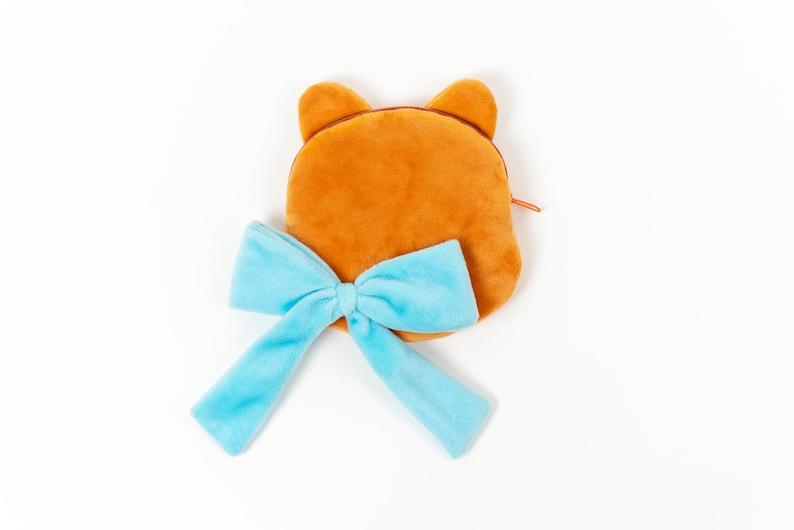 Pouch Cute Pouch  Cute Puppy Pouch  Puppy Character Pouch  Adorable Pouch  Character Pouch  Hidonaya