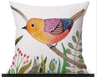 Little Bird Pillow Etsy