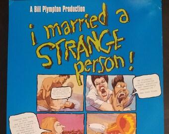 Strange Movie Poster Etsy