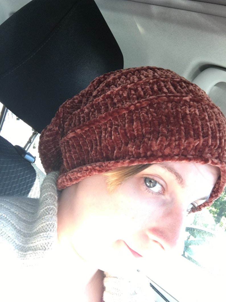 shown in grizzly brown Slouch hat