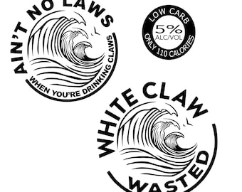 White Claw Svg Etsy