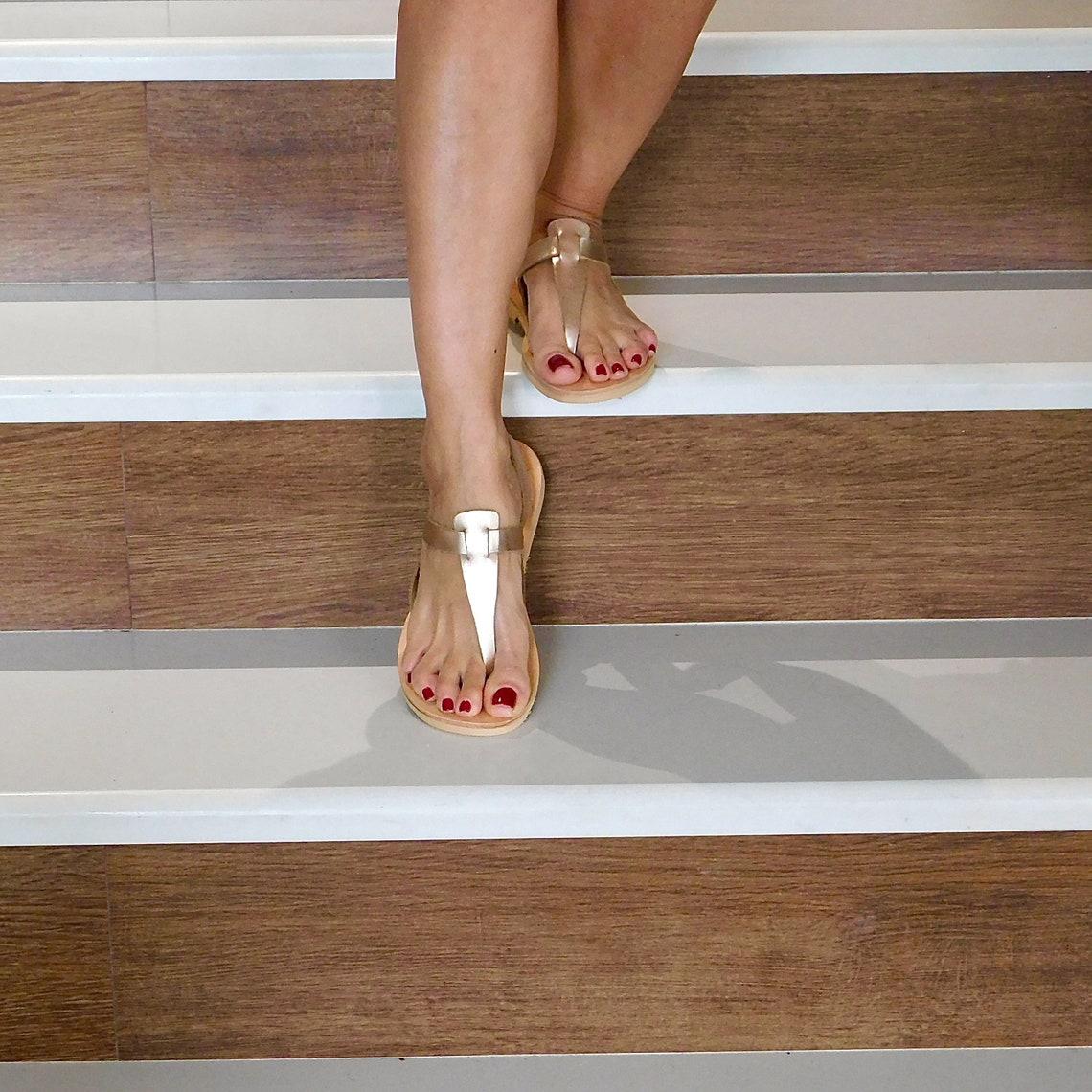 Sandals women, greek sandals, leather sandals, t strap sandals, sandals gold leather, summer sandals, summer shoes leather, sandals flat