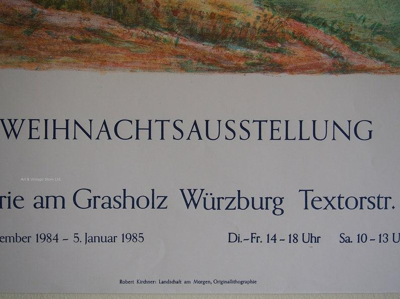 Graphik der Gegenwart Exhibition Poster 1984