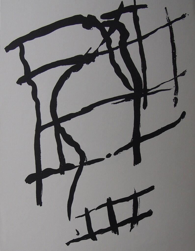 Pierre Tal-Coat Original Lithograph 1958