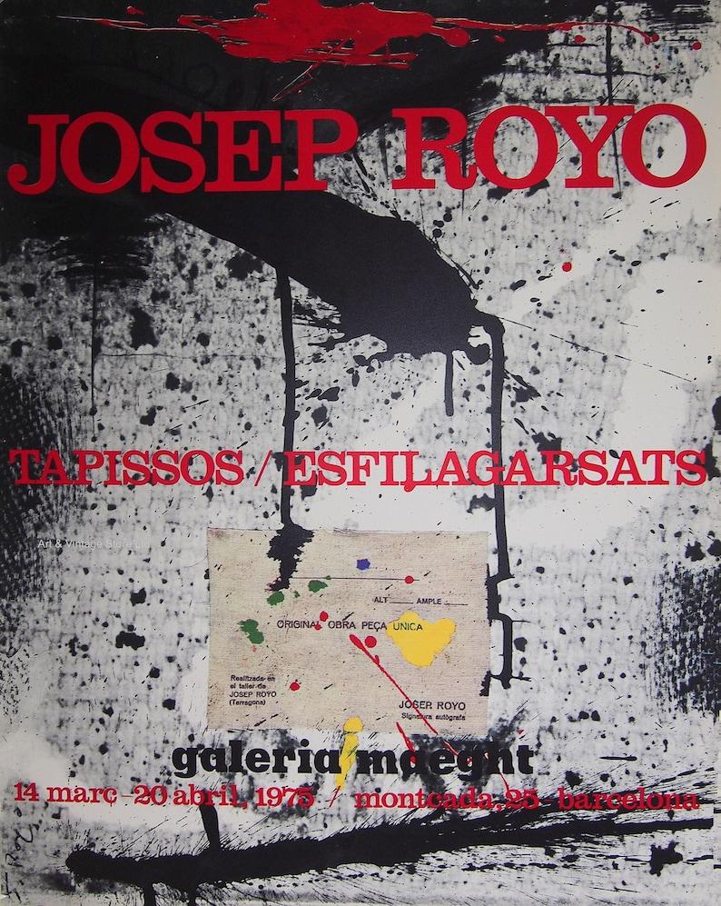 Josep Royo Original Artist Poster 1975