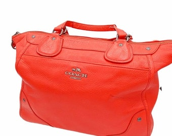 Coach Mickie Satchel in Grain Leather (F34040)