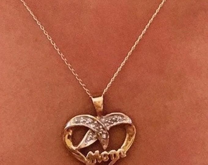 10K MOM Necklace