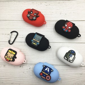 Colorful Korea Korean Traditional style folktale painting Galaxy buds plus case