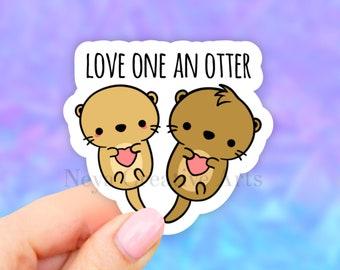 business sticker cute otter sticker @ollieotterstickers Ollieotter