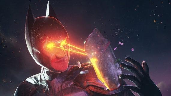 Batman Laser Eyes 4k