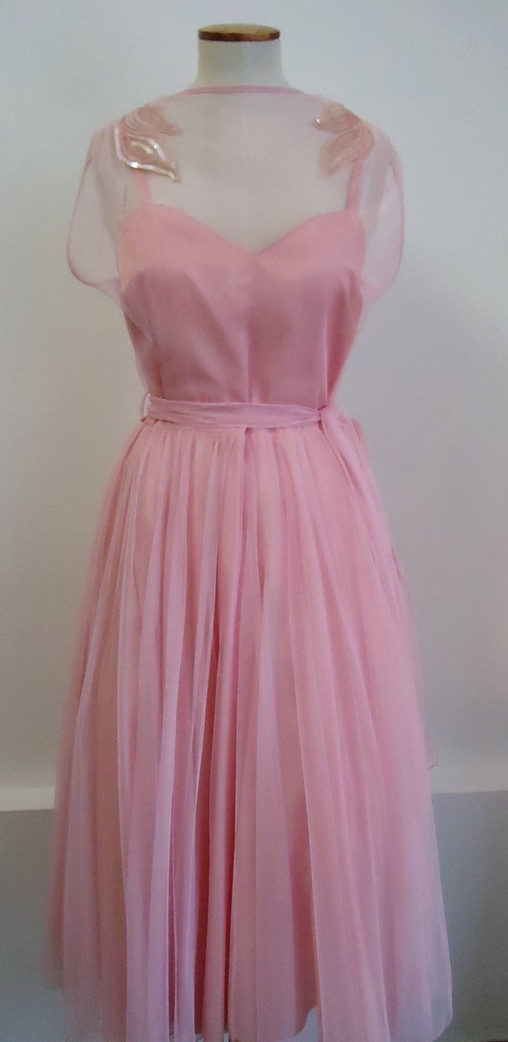 Tulle dress pink