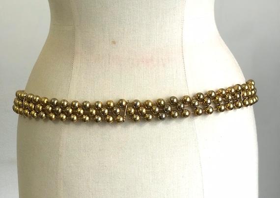 Vintage Belt Givenchy 60s - image 3