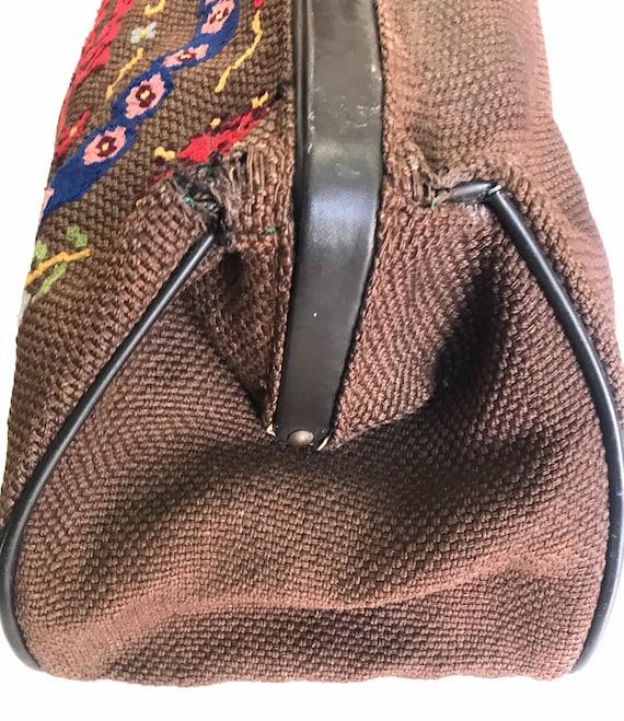 """Vintage """"Carpet Bag"""" 1920 - image 6"""