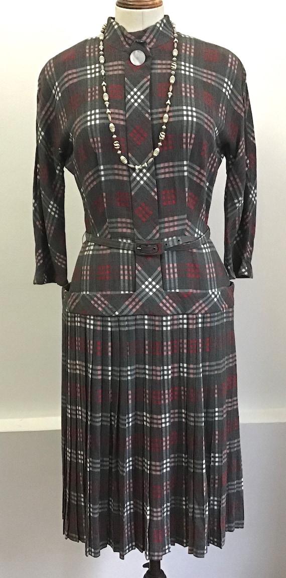 Vintage dress 40s