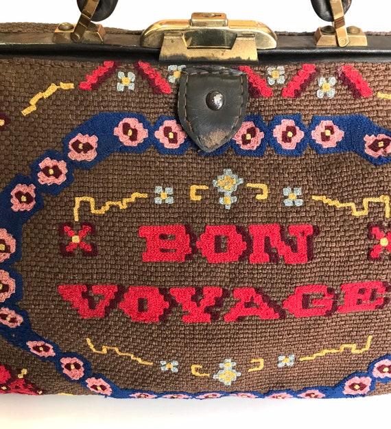 """Vintage """"Carpet Bag"""" 1920 - image 7"""