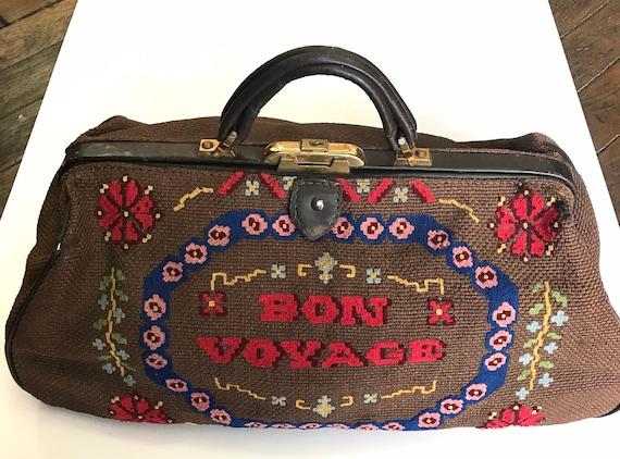 """Vintage """"Carpet Bag"""" 1920"""