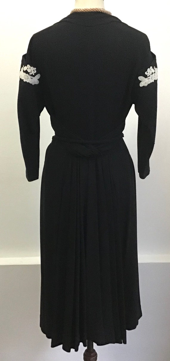 Vintage 40s dress - image 3