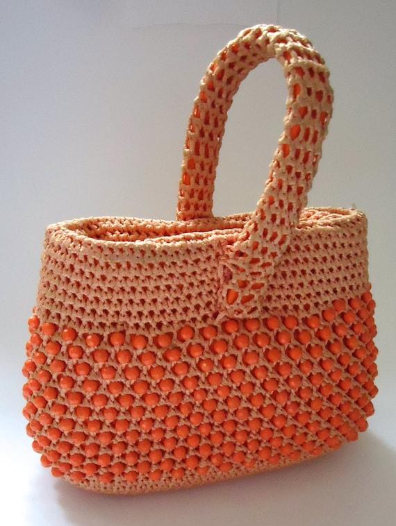 Vintage beaded bag 60s