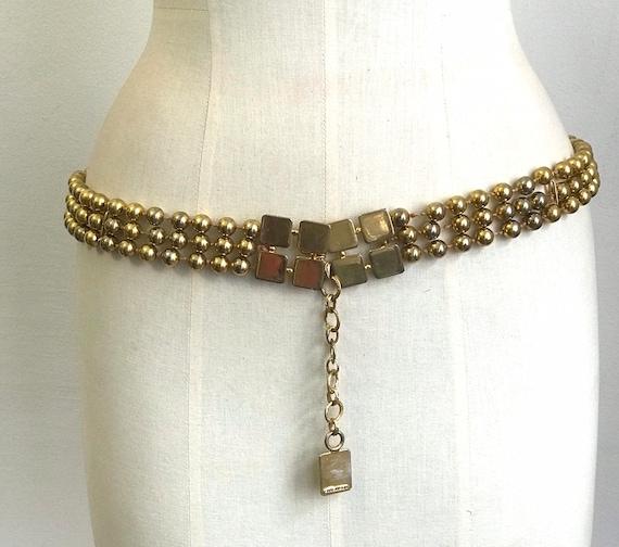 Vintage Belt Givenchy 60s - image 2