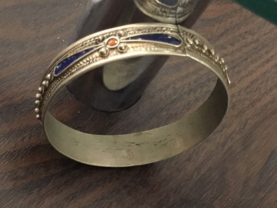 Vintage Bracelet Armband Pin Up  Metal Metall Plastic Plastik Modeschmuck Costume Jewelery