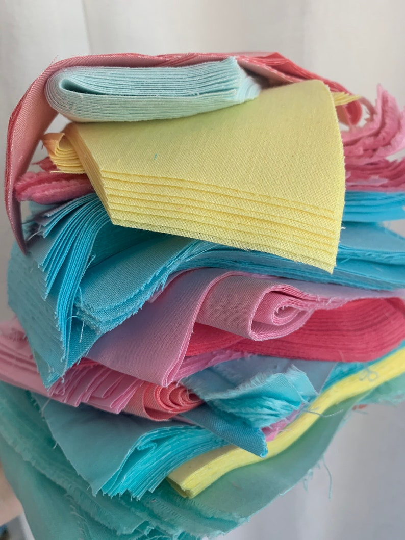 Fabric for face mask Fabric Scraps quilt fabric end of bolt Tiny scraps organic fabric soft fabric fabric variety cloud 9