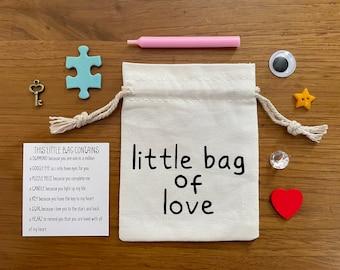 I Love You Gift, Boyfriend Gift, Anniversary Gift, Girlfriend Gift, Love Gift, Little Bag of Love